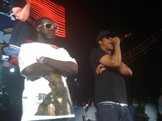 Jay-Z and T-Pain, Summer Jam 2009