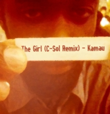 The Girl (C-Sol Remix) Artwork