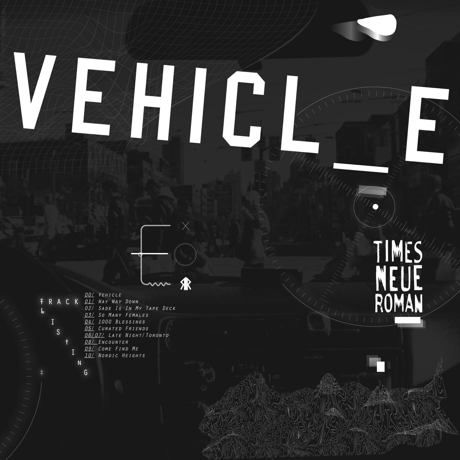 Times Neue Roman - Vehicle - artwork